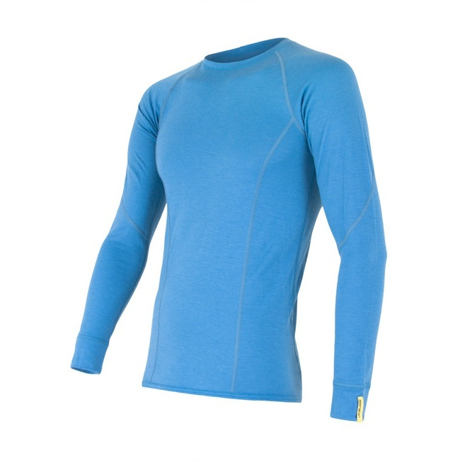 Sensor Merino Wool Active Men's T-shirt Long Sleeves