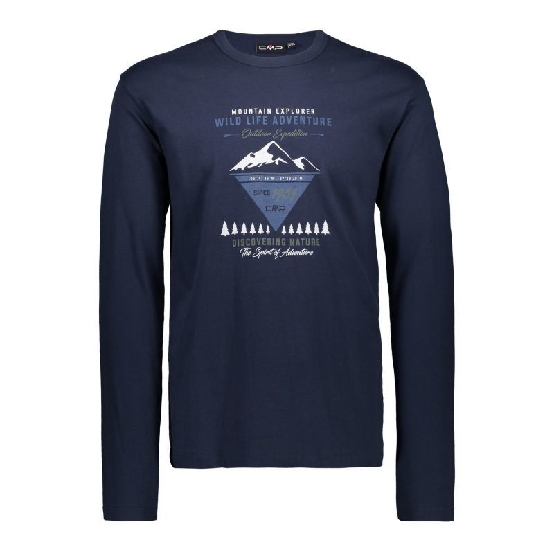CMP Campagnolo T-shirt LS blue Men's