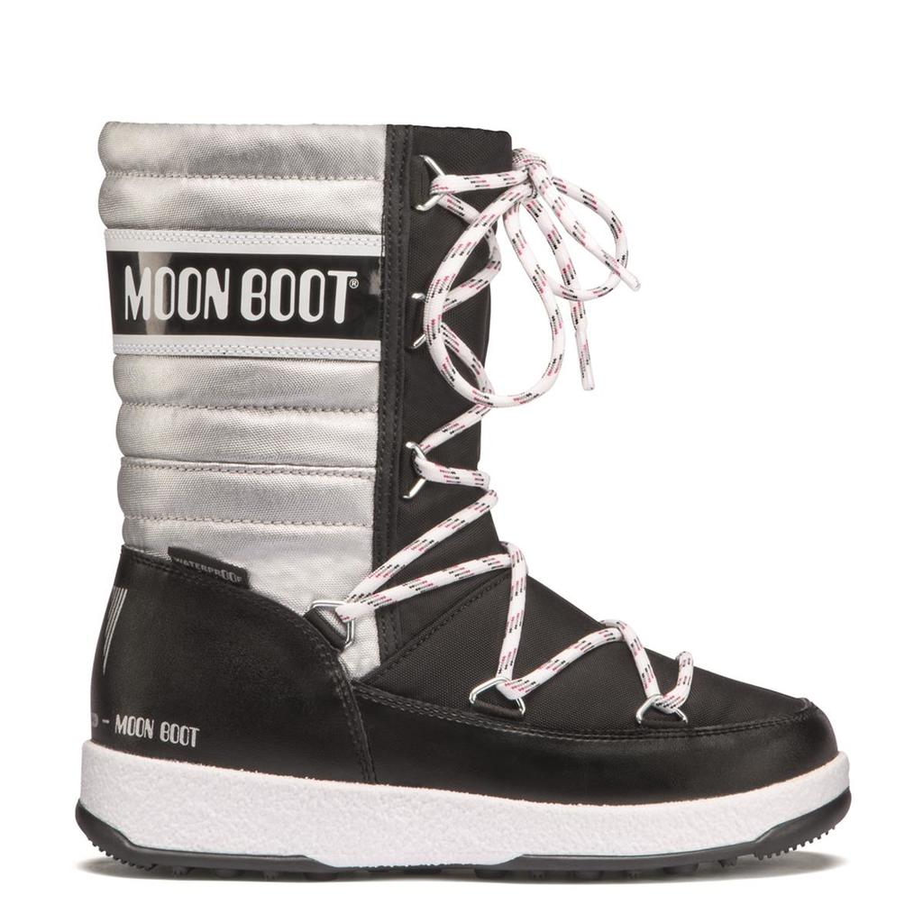 MOON BOOT JR Girl Quilted WP