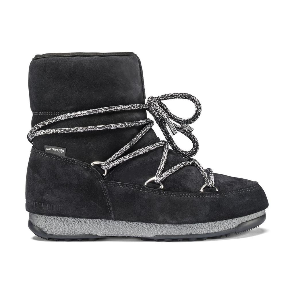 MOON BOOT WE Low Suede